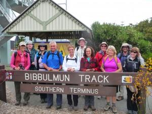 Bibbulmun Track Albany to Denmark Day 2 start