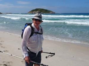 Bibbulmun Track Albany to Denmark Day 4 beach walk