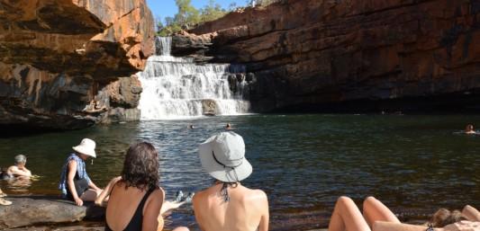 Kimberley Bells Gorge waterfall