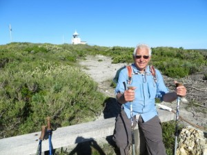 Cape to Cape using walking poles