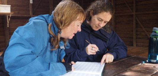 Bibbulmun Track hut guest books