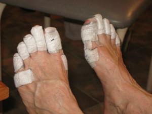Mummy Feet