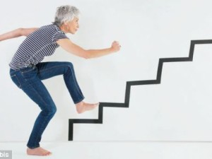 Up Exercise Intensity with stairs