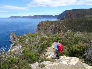 Hiking Tasmania, Cape Hauy