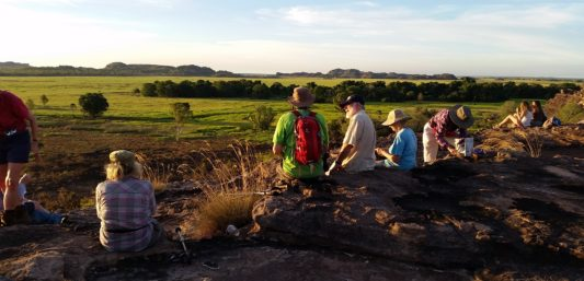Walking tour in Kakadu