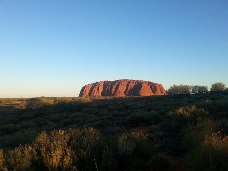 Day 7: Kings Canyon to Uluru and Uluru base walk