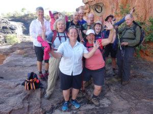 Kimberley Walking Tour, 28 June 2017 tour photos