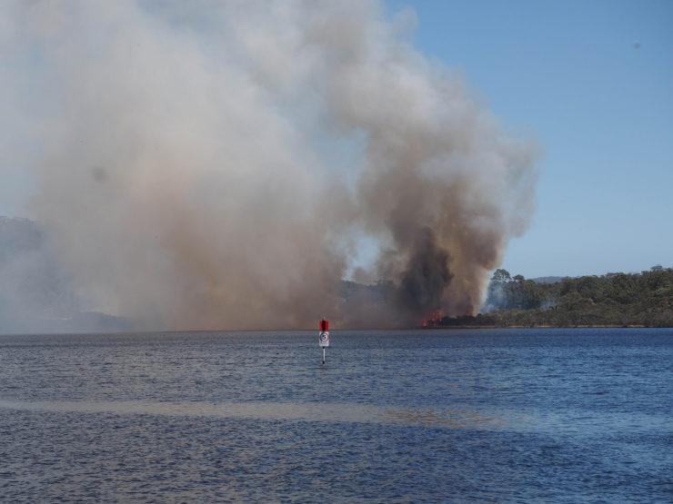 Bushfire in Walpole
