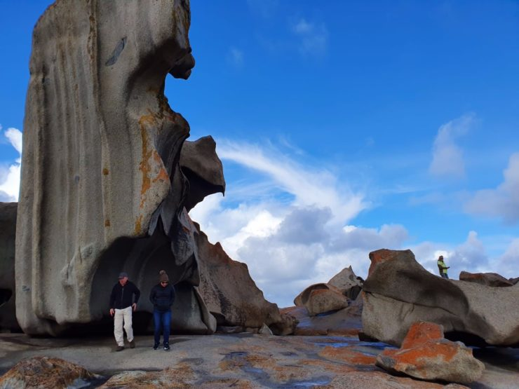 Day 4: Remarkable Rocks to Hanson Bay