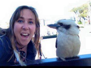 Stacey inspiration outdoors guide Kookaburra