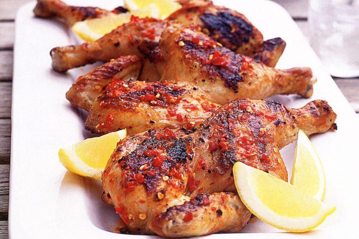piri piri chicken plate